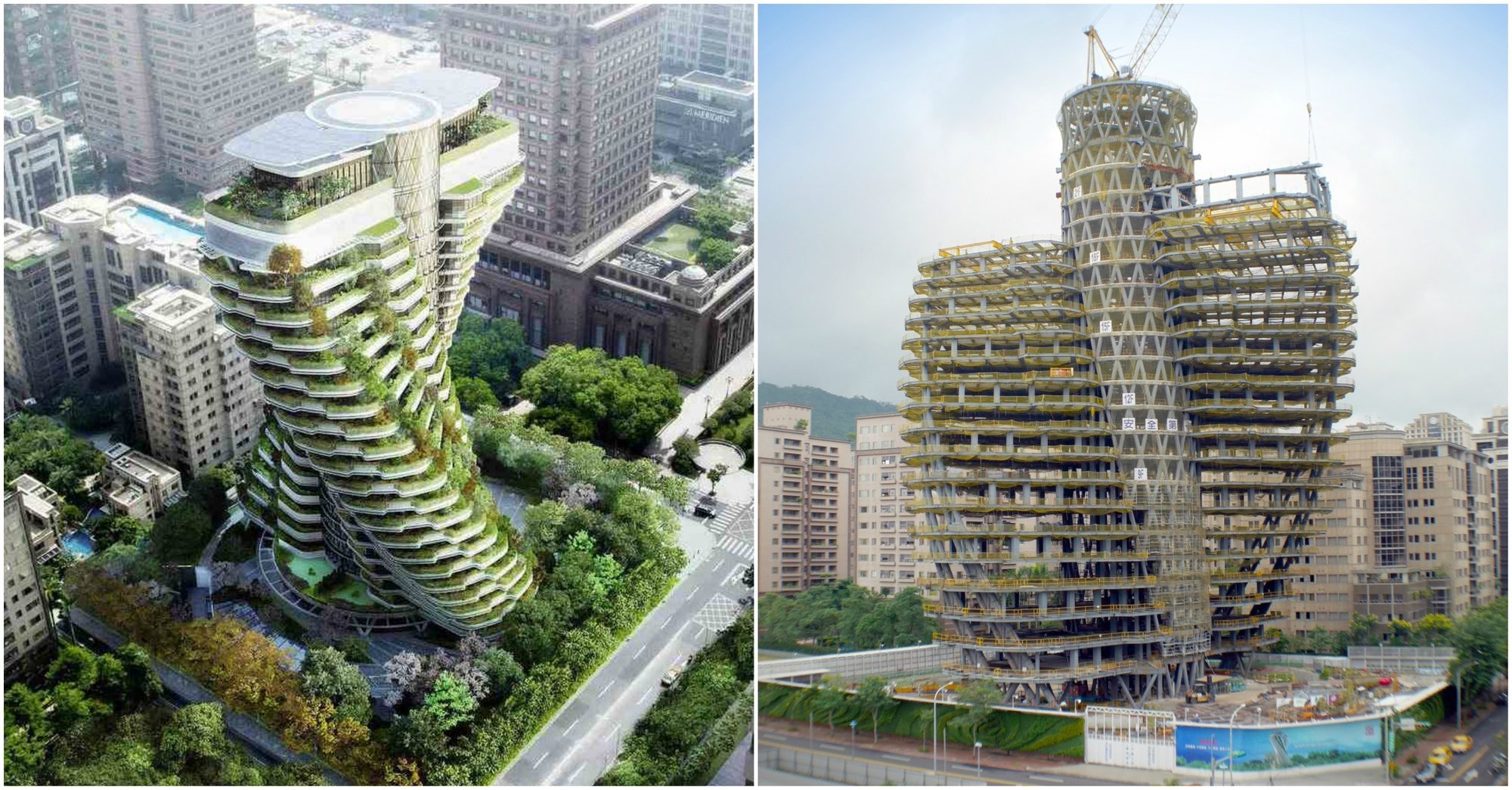 Vincent Callebaut Architectures Double Helix Eco Tower