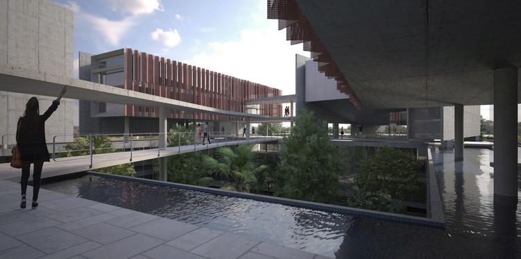 Terceiro lugar no concurso nacional para a nova sede do CAU/BR + IAB/DF , Cortesia de Vereda Arquitetos