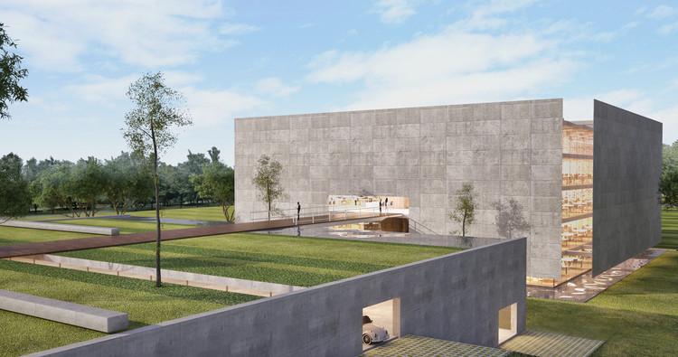 Quarto lugar no concurso nacional para a nova sede do CAU/BR + IAB/DF, Cortesia de Bruno Cabral Arquitetura, RGB Estudio e Jakelyne Martins Arquitetura