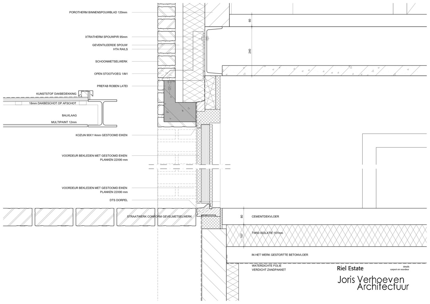 Verrassend Gallery of Riel Estate / Joris Verhoeven Architectuur - 22 SG-51