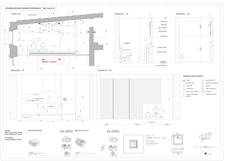 Schemi Elettrici Casa : Gallery of casa rj archiplanstudio