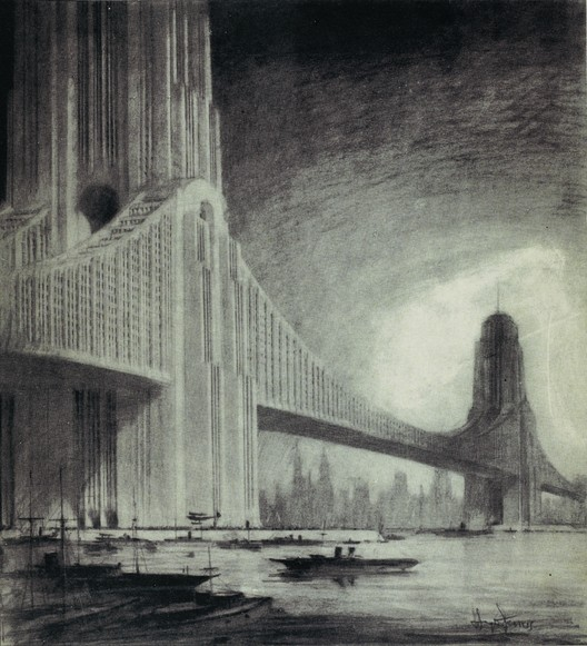 Raymond Hood Skyscraper Bridge Image Courtesy Of Metropolis Books