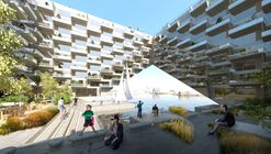 BIG and BARCODE Win Competition for the Sluishuis Housing Development in Amsterdam