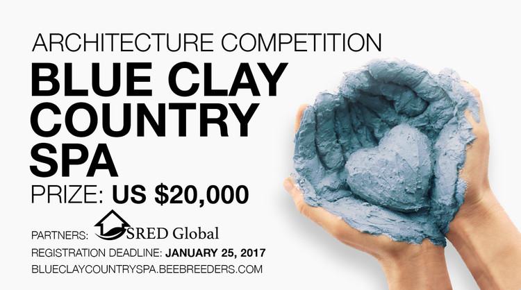 Blue Clay Country Spa architecture competition,  Blue Clay Country Spa competition