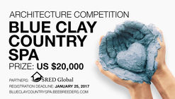 Blue Clay Country Spa architecture competition