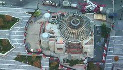 Calatrava's St. Nicholas National Shrine at the World Trade Center Tops Out