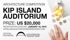 The Kip Island Auditorium architecture competition