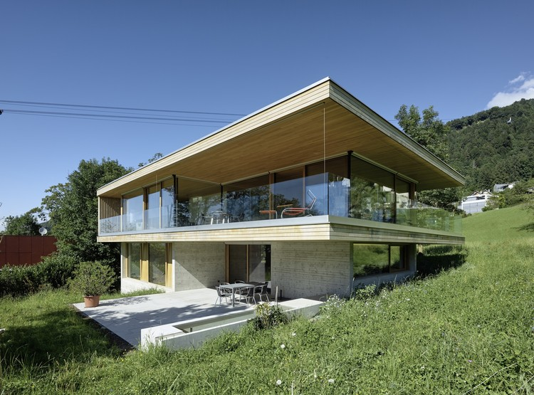 House D / Dietrich | Untertrifaller Architekten, © Bruno Klomfar