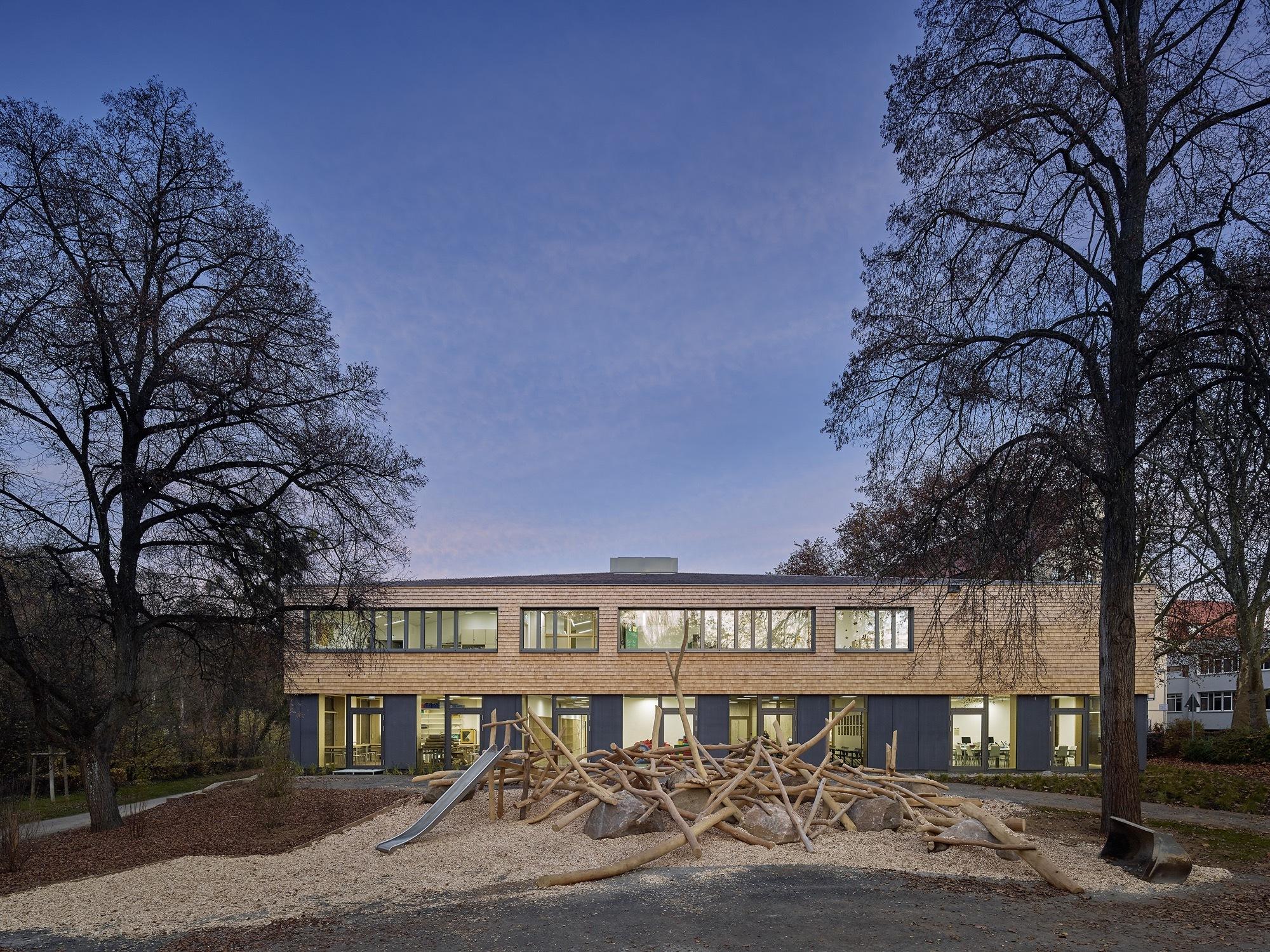 Gallery of intercultural education center at t bingen se arch architekten 6 - Architekten tubingen ...