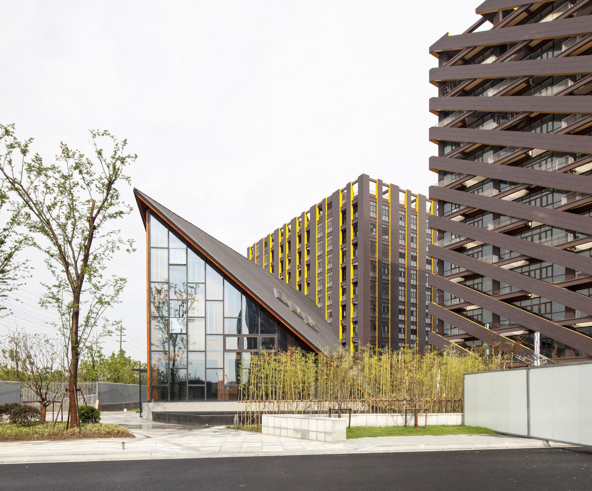 Wood Architecture: Wood Pavilion / FMD Architects