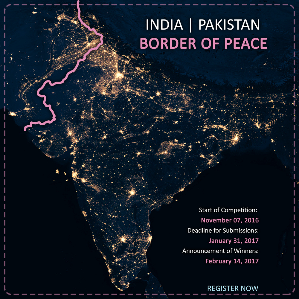 Map Of India And Pakistan Border.Gallery Of India Pakistan Border Of Peace 1