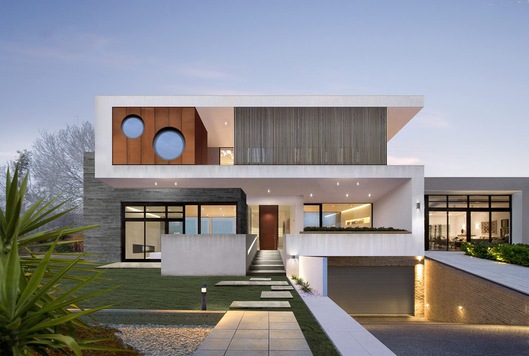 The Two Rock House  / Wolf Architects, Courtesy of Wolf Architects