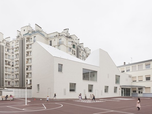 The Music Conservatory of Versailles Grand Parc / Joly&Loiret