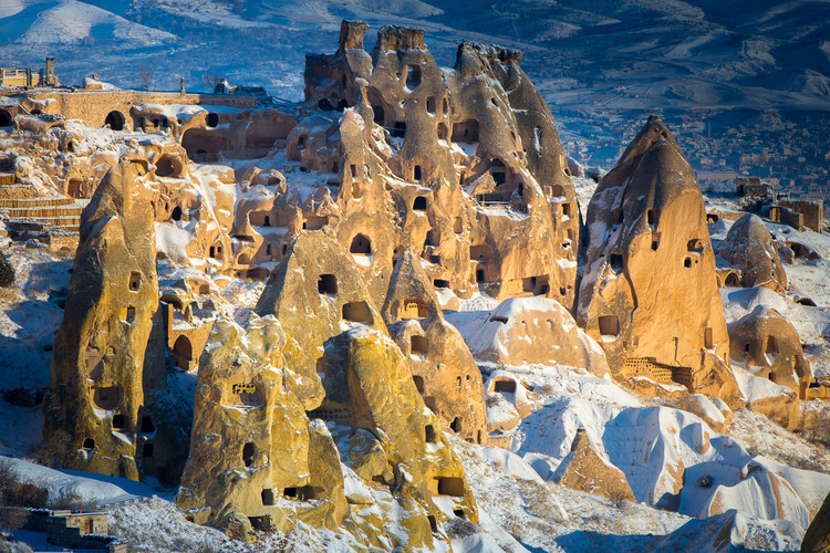 Cappadocia's Fairy Chimneys: A Collaboration Between Humans and Rocks,  © <a href='http://www.robwhitworth.co.uk/'> Rob Whitworth </a>