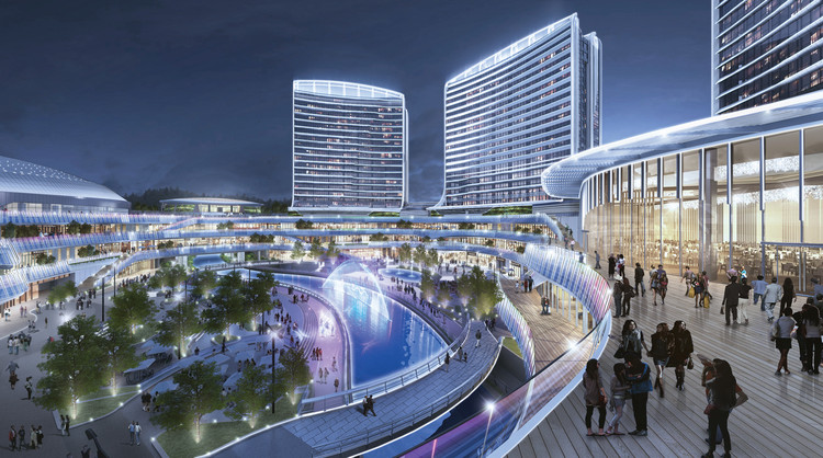 New Mixed-Use Complex Expresses Past, Present, and Future of Chinese  Culture | ArchDaily