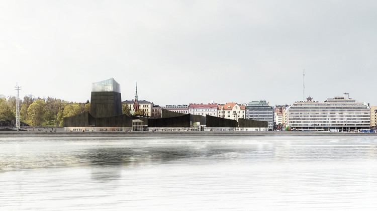 Guggenheim Helsinki Plans Abandoned After Rejection by City Council, © Moreau Kusunoki Architectes / Guggenheim