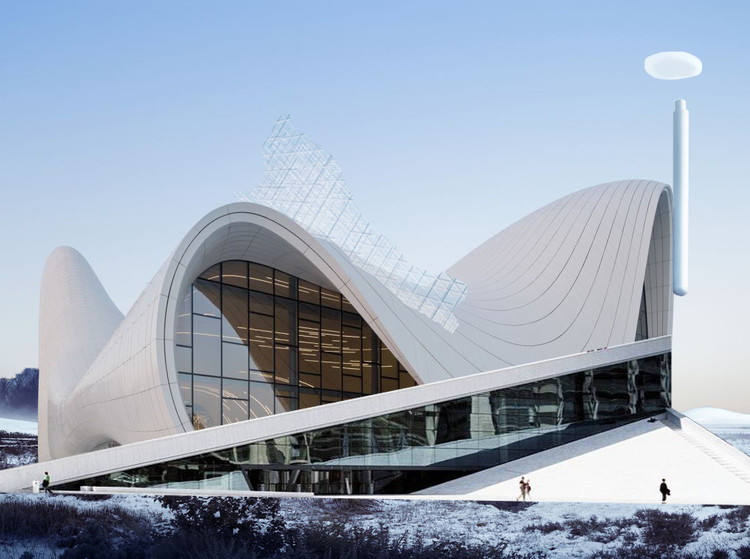 7 desafios que impedem a originalidade na arquitetura (e como superá-los) , © Ariana Zilliacus. Original work using images by <a href='http://www.archdaily.com/448774/heydar-aliyev-center-zaha-hadid-architects'>Iwan Baan</a>, <a href='http://snohetta.com/project/42-norwegian-national-opera-and-ballet'>Jens Passoth</a>, <a href='http://www.archdaily.com/384289/serpentine-pavilion-sou-fujimoto'>Daniel Portilla</a> and <a href='http://www.archdaily.com/339893/bigs-waste-to-energy-plant-breaks-ground-breaks-schemas'>BIG</a>