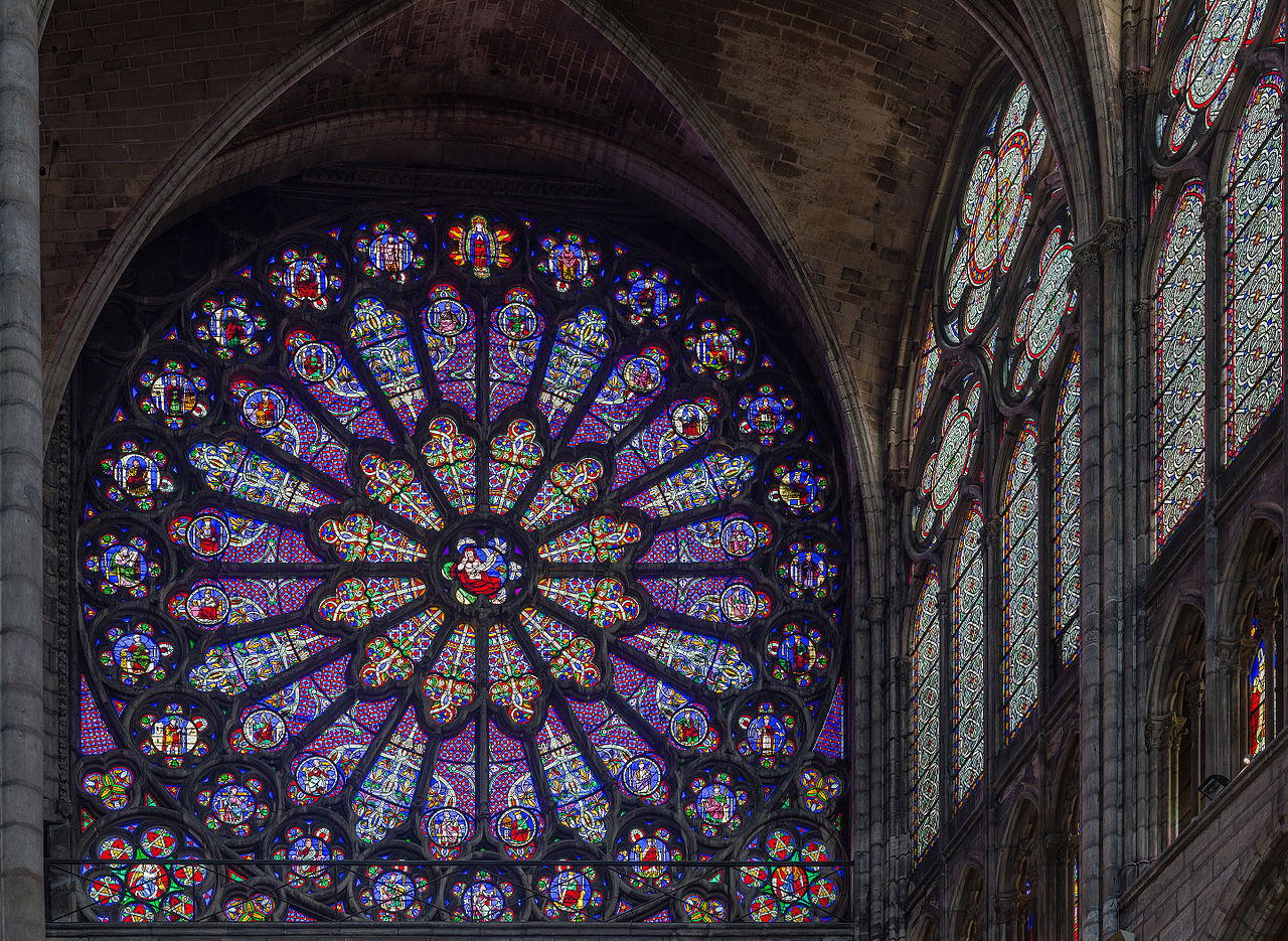 Rose Window Image C Wikimedia User Diliff Licensed Under CC BY SA 30