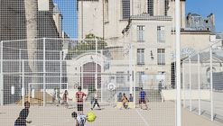 Physical Education Ground of Saint-Paul Gardens / NP2F