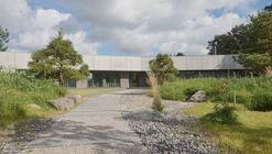 Residential Minimalist Concrete House / NEBRAU