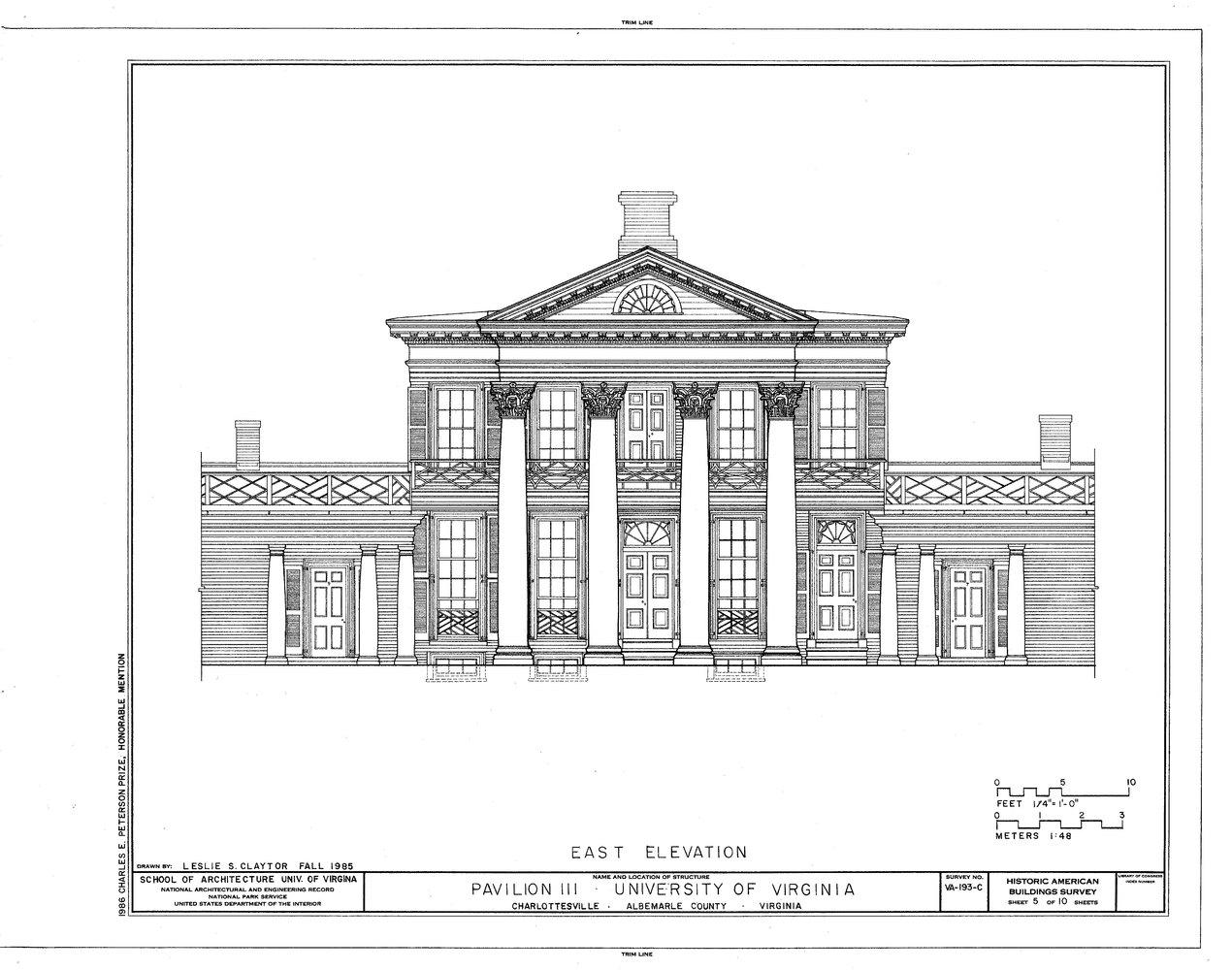 Gallery of AD Classics: University of Virginia / Thomas