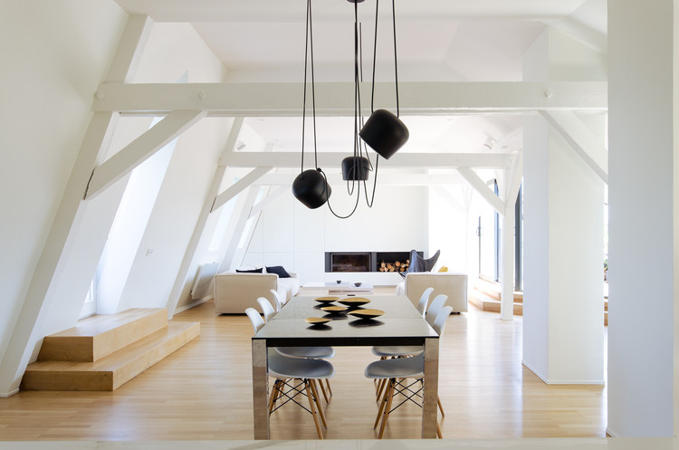 El ático / f+f architectes, © Johan Fritzell