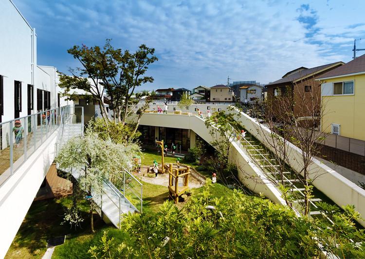 Jardín infantil y guardería KM / HIBINOSEKKEI + Youji no Shiro, © Ryuji Inoue / Studio Bauhaus