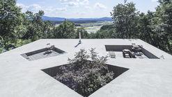 Casa de Telhado Inclinado / BCHO Architects