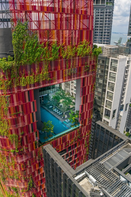 Oasia hotel centro woha archdaily m xico for Jardin enchante pte ltd