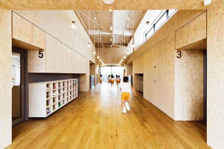 NFB Nursery / Youji no Shiro + HIBINOSEKKEI, © Ryuji Inoue / Studio Bauhaus