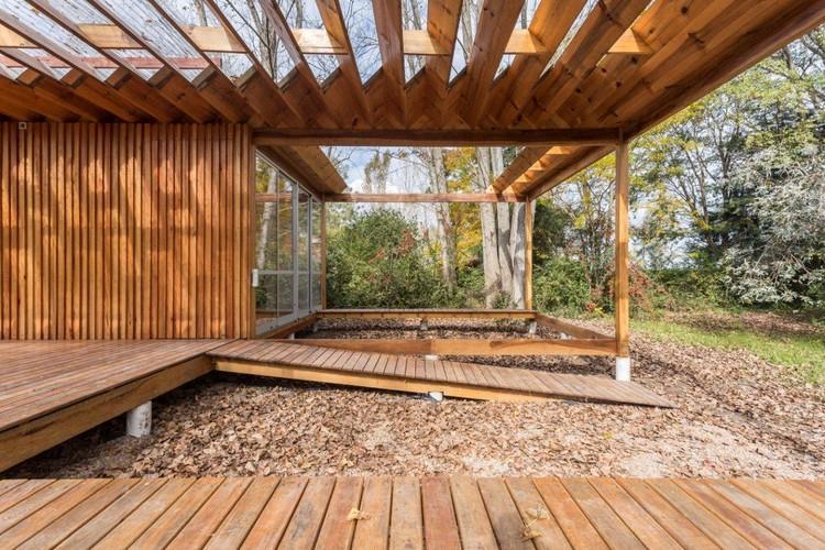 Diseño estructural en madera: El reglamento CIRSOC 601 en Argentina, Casa de Madera / Estudio Borrachia. Exaltación de la Cruz, Buenos Aires, Argentina. Image © Fernando Schapochnik
