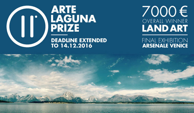 Open Call for Land Art projects at the 11.Arte Laguna Prize, Call for Land Artists: deadline December 14