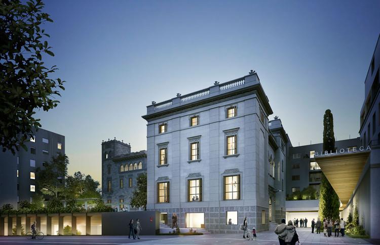 MESURA + Terradas Arquitectos, mención honrosa en concurso de diseño de la Biblioteca Sant Gervasi-Galvany en Barcelona, Cortesía de MESURA + Terradas Arquitectos