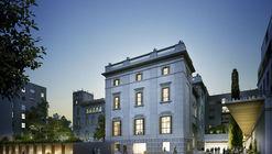 MESURA + Terradas Arquitectos, mención honrosa en concurso de diseño de la Biblioteca Sant Gervasi-Galvany en Barcelona