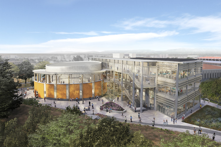 UC Irvine Announces Plan for Sustainable Active Learning Building in the Heart of Campus, Courtesy of LMN Architects