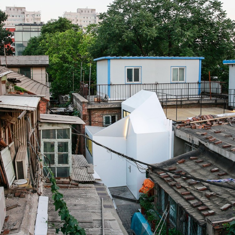 Casa Plugin da Srta. Fan / People's Architecture Office, © Gao Tianxia / People's Architecture Office
