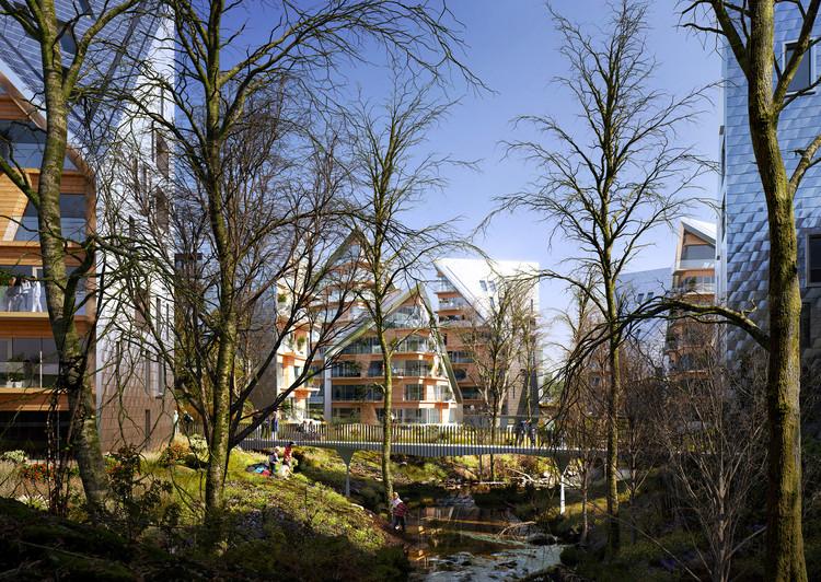 Utopia Arkitekter Proposes a Green Growth-Ring in Gothenburg , Courtesy of Utopia Arkitekter