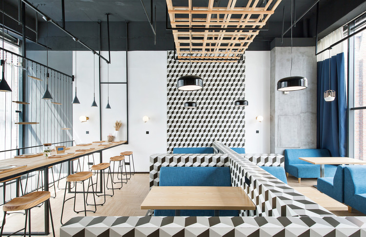 Beauty Free Baking Restaurants / ZONES DESIGN, © Xia Xuwei