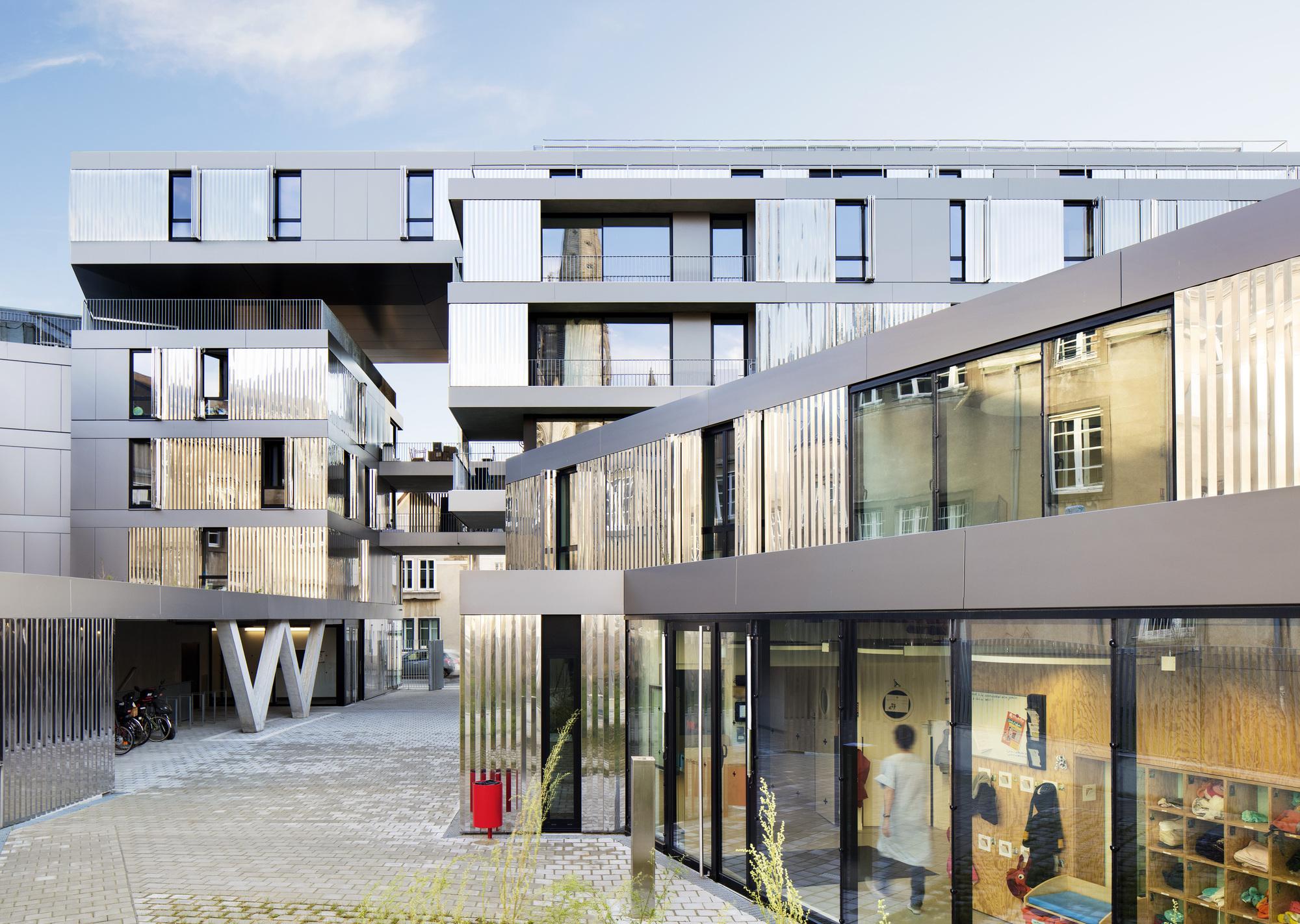 Nantes tag archdaily 56 apartments in nantes phd architectes michel denanc solutioingenieria Choice Image
