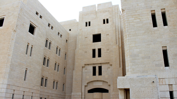 Monocle 24 Explores Architectural White Elephants, Unfinished Palestinian Parliament Building. Image Courtesy of Monocle 24