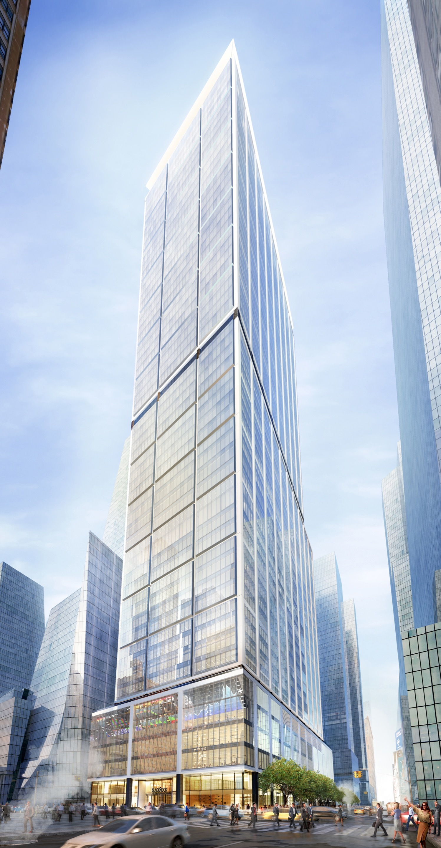 50 Hudson Yards >> Gallery of Foster + Partners' Plans for 50 Hudson Yards in New York Unveiled - 3
