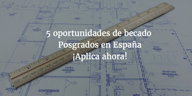Becas: 5 oportunidades para estudiar un Posgrado en Arquitectura en España, Cortesía de Pablo by buffer
