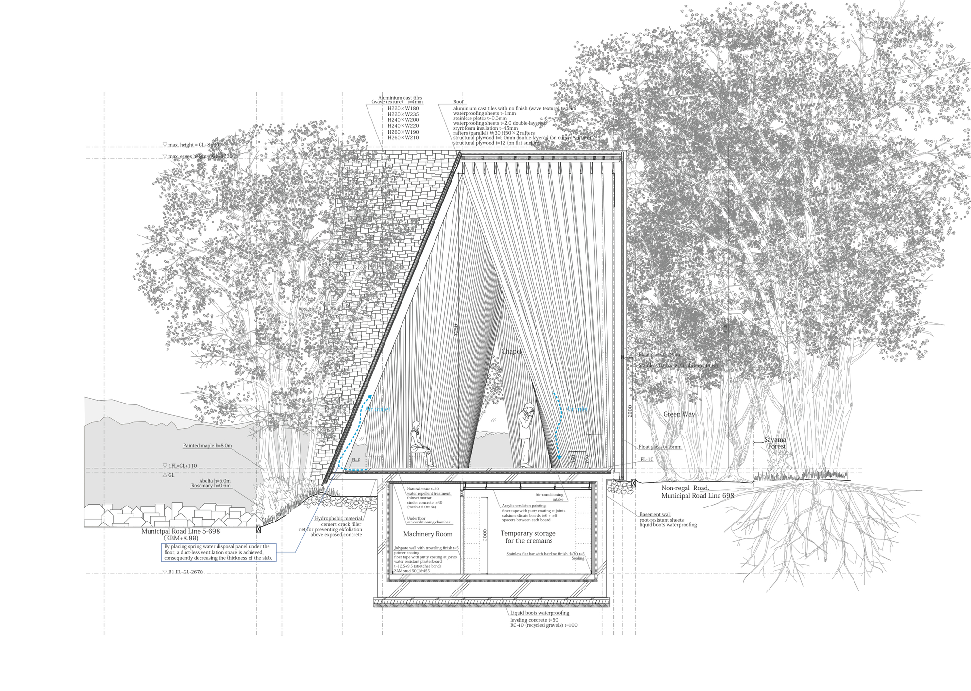 architecture drawing. Plain Architecture Hiroshi Nakamura U0026 NAP Inside Architecture Drawing