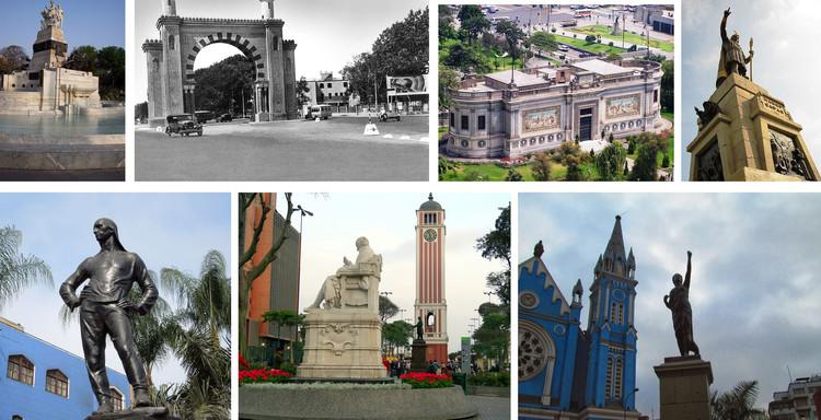 10 Regalos de Independencia que ha recibido el Perú, Collage por Claudia Hiromoto. ImageCollage en base a imágenes del presente arículo