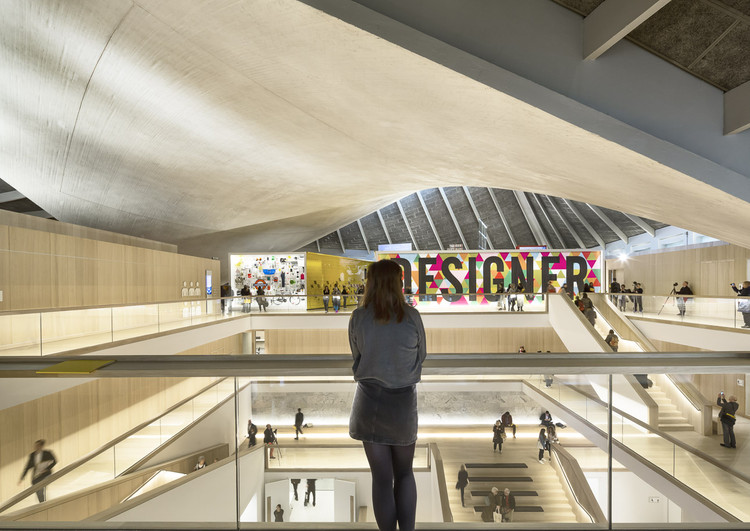 A Look at London's New Design Museum Through the Lens of Luc Boegly & Sergio Grazia, © Luc Boegly & Sergio Grazia