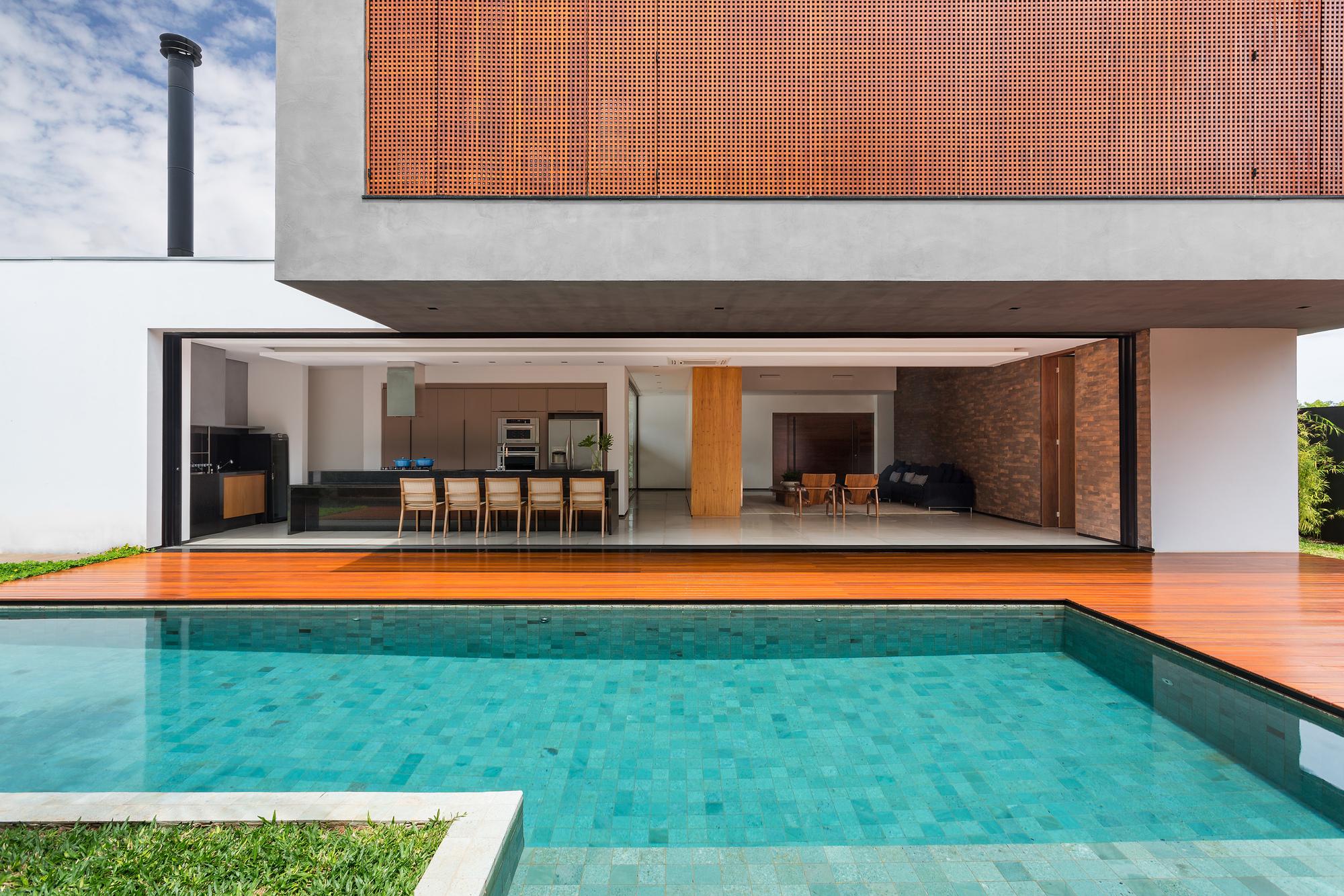 Act residence cf arquitetura archdaily for Foto contemporanea de jardin