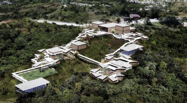 Taller Síntesis gana concurso para diseñar nueva sede del Colegio Bartolomé de las Casas en Colombia, Cortesía de Taller Síntesis