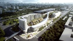 Aedas Wins Competition for Dragon/Phoenix-Inspired Transportation Hub in Sanya, China