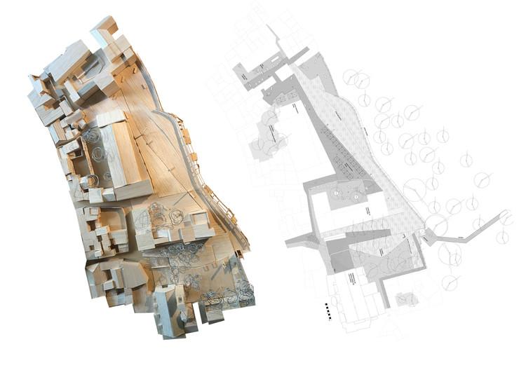 Conoce la mención de honor del Concurso Hornachuelos Downtown Reactivation , Cortesía de Cristián Ferrera