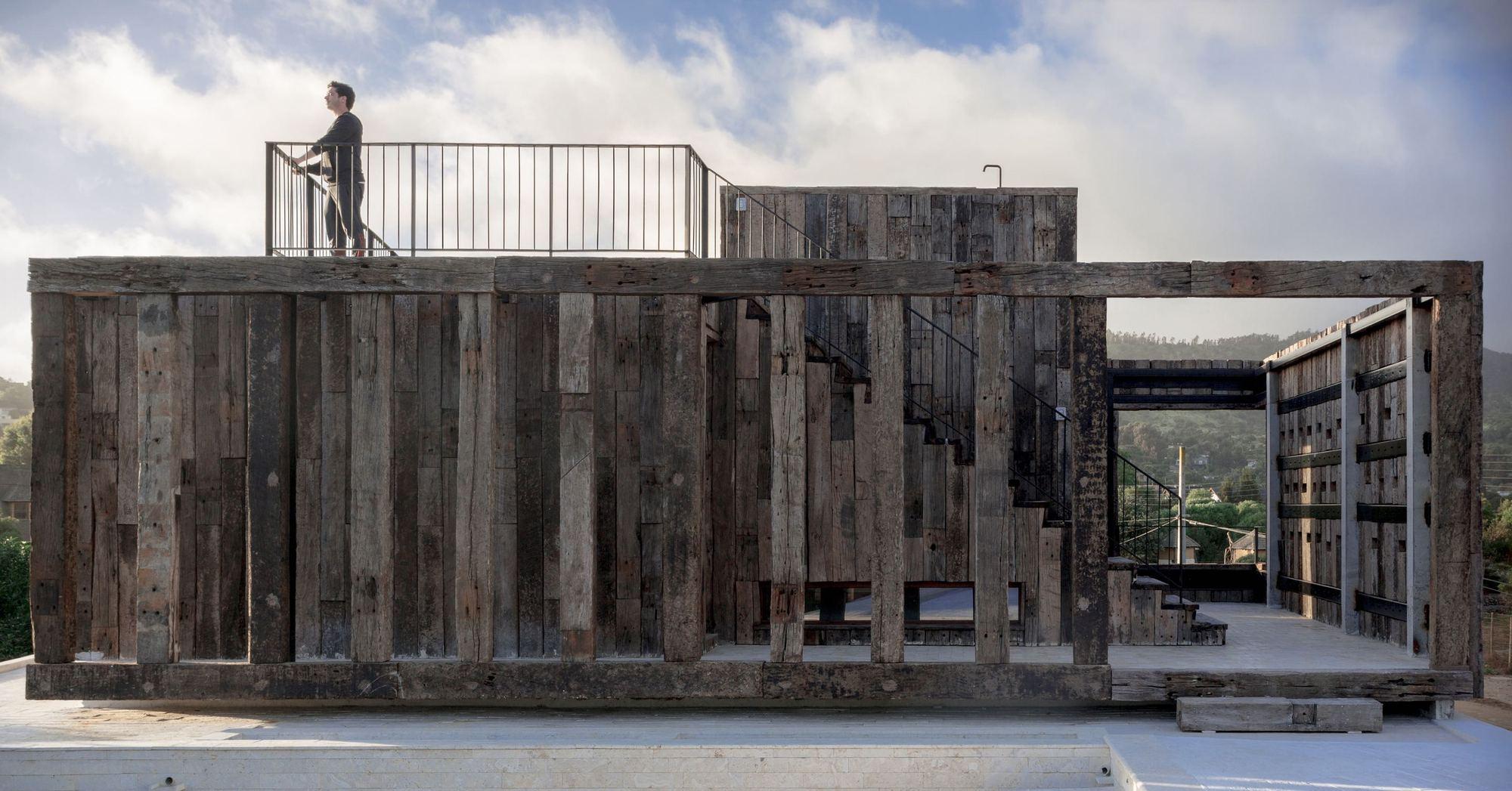 Casa machagua croxatto y opazo arquitectos plataforma - Cm arquitectos ...